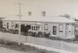 Mrs Lindley's Cottage Hospital, Parsonage Place, Sorell c1920